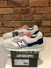 NEW BALANCE SHOES M997SOA COLOR WHITE MINT PINK *LESS IS MORE* MADE IN THE USA