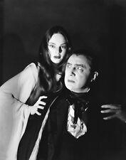 Bela Lugosi and Carol Borland UNSIGNED photo - D591 - Mark of the Vampire