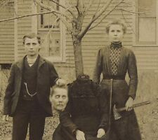 New Art Print Of 5x7 Antique Photo Creepy Macabre Haunting Halloween c.1850