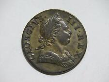 GREAT BRITAIN 1771 HALF PENNY BRITANNIA GEORGE III LOW GRADE WORLD COIN #N 🌈⭐🌈
