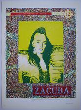 FLASH LARRY LUCIEN SÉRIGRAPHIE 1987 SIGNÉE CRAYON NUM/200 HANDSIGNED SILKSCREEN