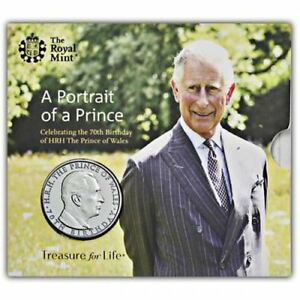 The 70th Birthday of HRH Prince of Wales 2018 UK Brilliant Uncirculated Coin
