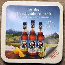 Bierdeckel FRANZISKANER WEISSBIER Blutorange/alkoholfrei