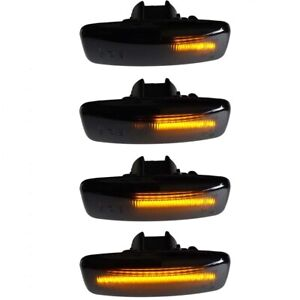For Nissan Sylphy Murano Bluebird Teana Sequential LED Side Marker Signal lights