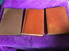 Lot Antique Vintage Zane Grey Hardcover Books The Last Trail, Stairs Of Sand +