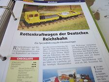 Modellbahn Schritt für Schritt 7 B Gleisbau Rottenkraftwagen der DR