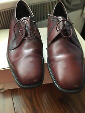 ViNtage  George Webb SAVILLE  ROW  MEN'S TAN/brown ALL LEATHER SHOES SIZE UK 8