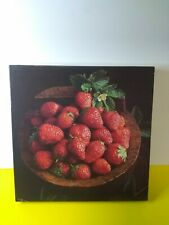 Strawberry Jamboree 1983 - 500 Piece Jigsaw Puzzle by Sandpiper - 20 X 20 - VTG