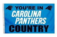 Carolina Panthers 3x5 Country Design Flag [NEW] NFL Banner Sign Fan Wall House