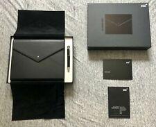 Montblanc Augmented Paper & Ballpoint Pen Set Black Leather AUGP-100