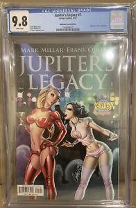 Jupiter's Legacy #1 CGC 9.8 JSCampbell Variant Optioned Image 2013