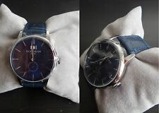 Orologio Locman 1960 Dolce Vita Watch 0252v02-00blnkpb Quarzo Uomo Pelle Blu