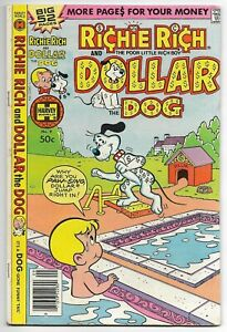 Richie Rich and Dollar the Dog #9 (Harvey, 1979) – 52 Pages – Jackie Jokers – FN