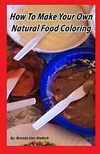 NEW How To Make Your Own Natural Food Coloring by Brenda Van Niekerk