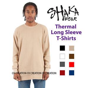 2 NEW SHAKA WEAR SUPER MAX HEAVY WEIGHT T-SHIRTS WARM WHITE TEE PLAIN MEDIUM