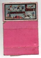 """Vintage Cartón"""" Suspensorio Sport """" Años '30"""