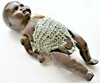 Antique Vintage Black Baby Doll Made in Germany Blinking Eyes N38 7/0