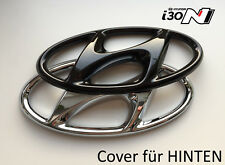 Hyundai i 30N Heck Cover Emblem hochglanz–schwarz blacked out Badge gloss black