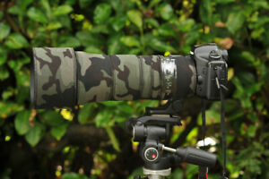 Sigma 150 600mm CONTEMPORARY Protection Neoprene lens cover AP Camo