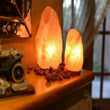 Small Extra Large Pink Natural Himalayan Crystal Rock Salt Lamp Healing Ionizing