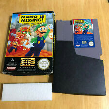 Nintendo NES Boxed Game - Mario is Missing