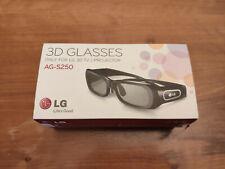 Occhiali 3D Attivi - LG  AG-S250 - 3D Glasses - Nuovi - New