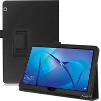 Huawei MediaPad T3 10 Ständer Schutzhülle Tasche Kunstleder Case Etui +Pen -2N