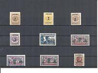 Memel, Litauen, Klaipeda 1923, Einzelmarken aus MiNrn: 84 - 233 **, postfrisch