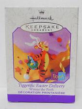 1999 Hallmark Keepsake Ornament Tiggerific Easter Delivery-QEO8359