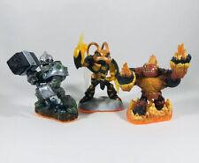 Skylanders Giants - Crusher, Hot Head & Swarm Character Figures