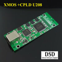 XMOS + CPLD XU208 USB digital interface SPDIF I2S out 384K DSD SITIME crystal