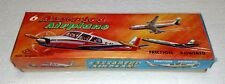VINTAGE S2 JAPAN ASSORTED AIRPLANE TIN LITHO FRICTION POWERED IN BOX ARMY NAVY
