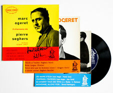 MARC OGERET SIGNED recital n°1, 2 & 3 french orphee 150008 3 EP autographe