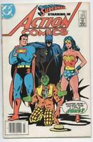 ACTION COMICS #565, FN, Superman, Wonder Woman, Batman, 1938 1985