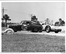 FIAT ABARTH RECORD MONZA 1000 SEBRING 12 HOURS 1961 JAMES CALHOUN BOB LIESS FOTO