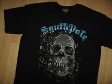 Southpole Skull Tee - South Pole Signature Series Skeleton Urban T Shirt XLarge