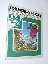 CORRIERE DEI PICCOLI 1979 n 29 john john, pimpa, stefi, marzolino tarantola...