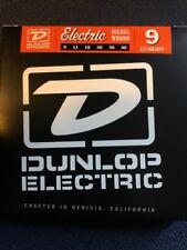 Dunlop DEN0946 Light Heavy 9-46 Nickel Plated Electric Guitar Strings 3 Sets