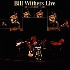 BILL WITHERS BILL WITHERS LIVE AT CARNEGIE HALL CD 1997 NEW