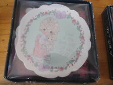 Precious Moments Holiday Plate 1992 in box