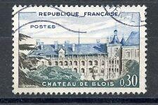 TIMBRE FRANCE OBLITERE N° 1255 CHATEAU DE BLOIS / photo non contractuelle