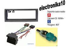 MARCO Soporte auto-radio PEUGEOT 407 04>  CITROEN C5 + cableado +fakra