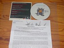 MONOPHONIC - M4 / 12 TRACK ALBUM-CD IM CARDSLEAVE 2010 & INFO-BLATT