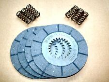 BSA BANTAM D14 & B175 FRICTION CLUTCH PLATES + HEAVY DUTY SPRINGS - A904 & C904