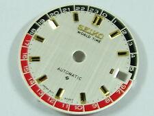 BLACK-RED New SEIKO Dial WORLD TIME 6217 Navigator Timer 6117 Watch