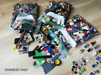 3 KG x2600pc's! LEGO CREATIVITY PACK +30 MINIFIGURES + X30 FREE ACCESSORIES!