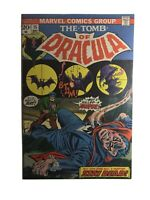 THE TOMB OF DRACULA #15 FEAR is name of the game!  Marvel 1973 Very Good+