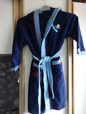 #R12 - bleu Bart Simpson Robe De Chambre-Taille 7-8 ans