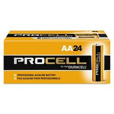NEW DURACELL PROCELL AA ALKALINE BATTERIES TWENTY-FOUR (24) PER BOX EXP IN 2020