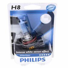 H8 Philips White Vision bis zu 3500K Xenon Effekt 12360WHV Blister 1 Stück